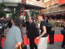 The official opening                   ceremony of the Bangkok Film festival 2003.