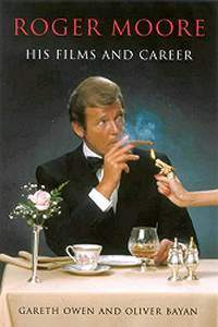 Roger Moore brought to book.