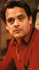 David Jason as that flash git Del Boy. Copyright BBC.