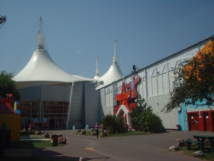 A view of the Skyline at                   Butlins Minehead.